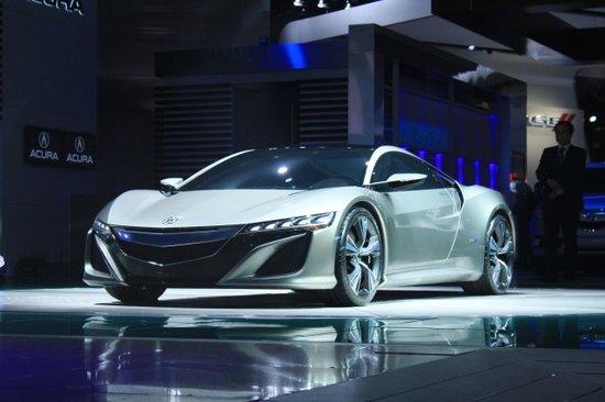讴歌全新NSX跑车2012北美车展全球首发