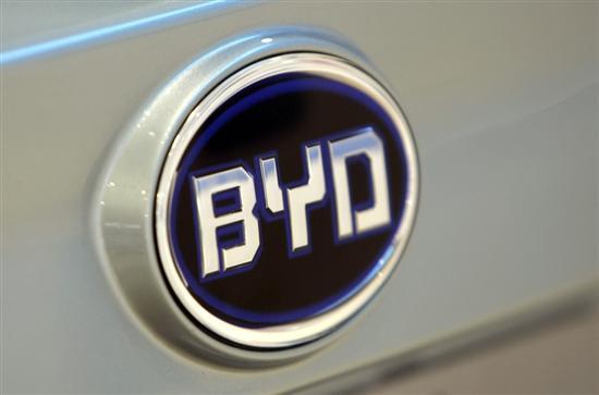 比亚迪预计一季度净利润下降24至35%