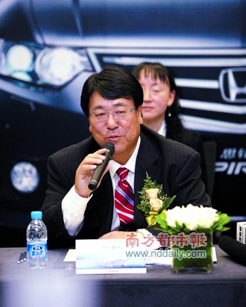 仓石诚司:本田绝不会轻易放弃中国市场