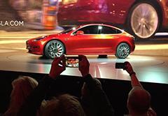 Model 3将在2017年按期上市 初步生产定7月