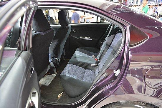 全新一代丰田威驰车型亮相 全新一代丰田威驰车型亮相 内饰部分的