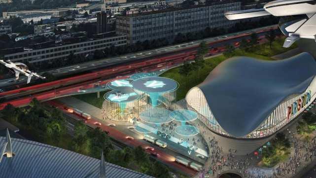 法国2024奥运会:将向嘉宾们提供飞行出租车