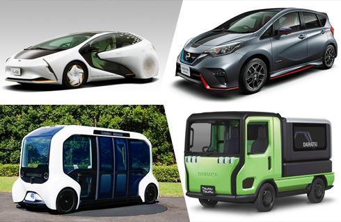 日系车型对未来的大胆畅想 东京车展众多新车来袭