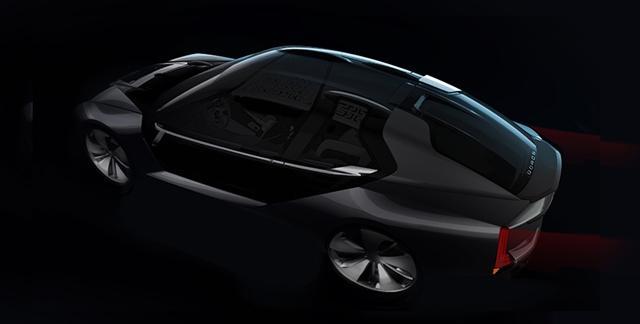 曝观致SUPER EV最新效果图 将上海车展首发
