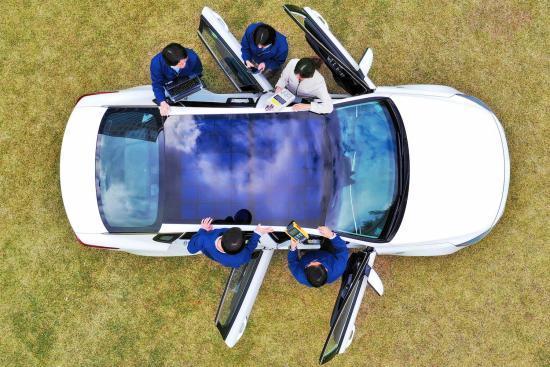 现代为特定车型研发太阳能充电系统 或有利车辆出口提高燃油效率