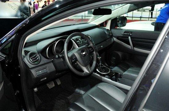 一汽马自达CX-7车展发布 或第三季度上市