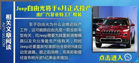 [新车发布]Jeep推新款自由客Freedom特别版