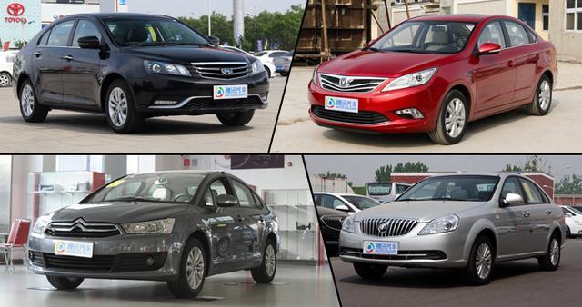 高品质自主PK经典合资 10万元家轿如何选
