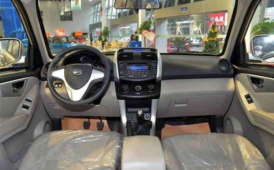 AT版年底推 力帆SUV车型将上海车展上市