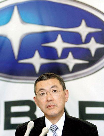 韩寒代言斯巴鲁 跑车BRZ将引入中国市场