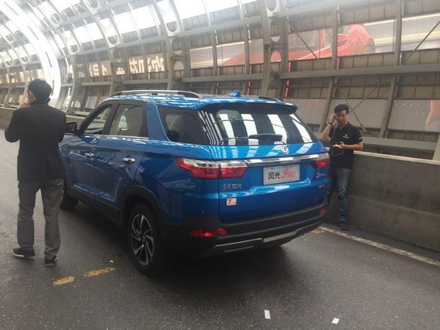 风景S560准备进馆 定位紧凑型SUV