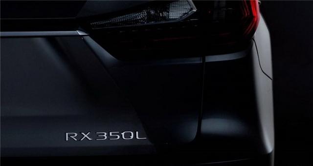 洛杉矶车展亮相 雷克萨斯RX 7座版预告图