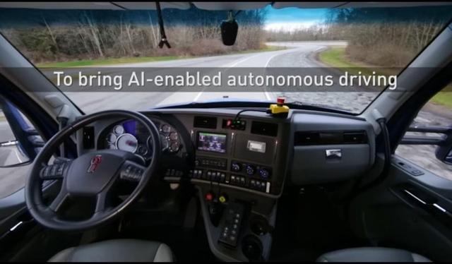 英伟达与PACCAR合作 卡车开始进入自动驾驶时代