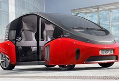 "Rinspeed""绿洲号""自动驾驶概念电动车亮相CES"