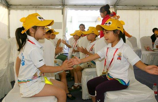 欢乐暑假 BMW儿童交通安全训练营沈阳扎营