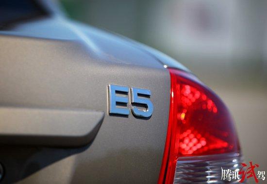腾讯汽车抢先试驾奇瑞E5 改变看得到