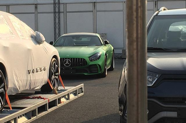 上海车展探营:奔驰AMG GT R新车亮相