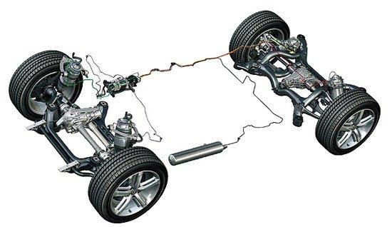 本田主动可调后悬架系统-四种最新汽车悬架技术功能解读
