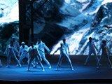 宝马新X3发布现场歌舞表演