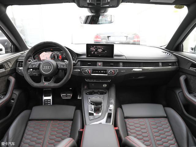 奥迪新款RS4 Avant将于4月初国内正式上市