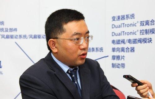 孙树强:博格华纳注重在华开发零部件技术