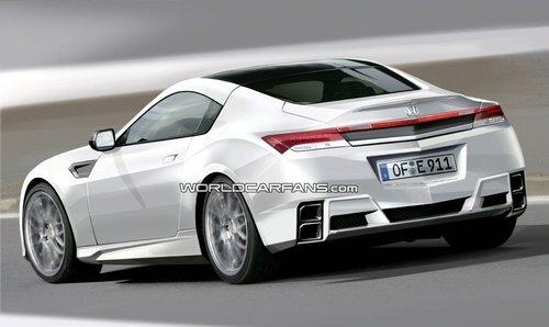 本田NSX概念车将亮相2012年底特律车展