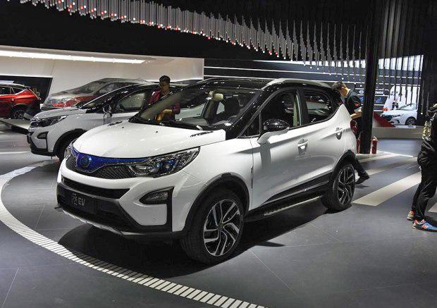 比亚迪元EV纯电动版上海车展发布