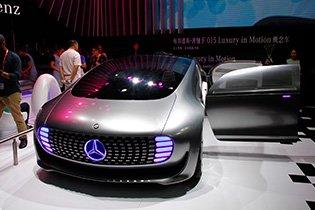 奔驰 F 015 Luxury in Motion