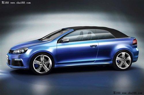 大众发布新款高尔夫GTI/R敞篷版概念车