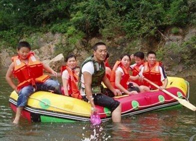 中国龙隐--花溪漂流