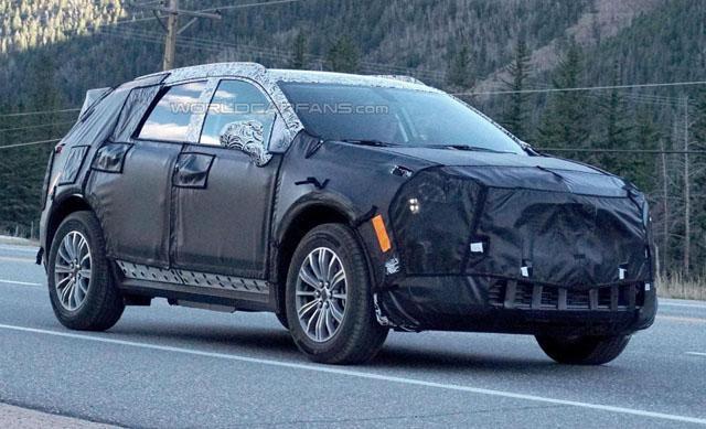 凯迪拉克全新XT5 SUV谍照 或纽约车展首发