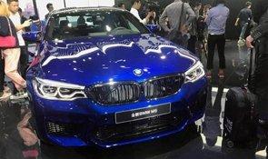 全新宝马M5车展国内首发