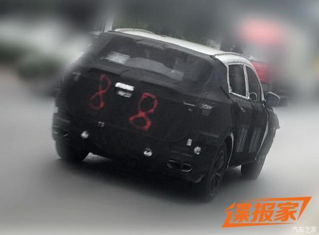 有望2018年上市 吉祥全新SUV谍照曝光