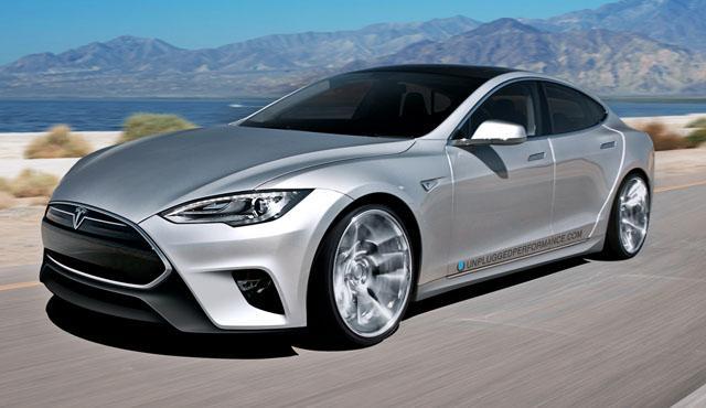 首个特拉斯Model S改装案例出炉高清图片