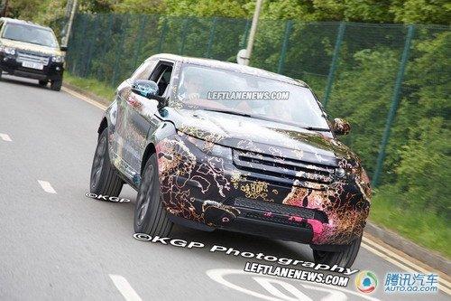2011款路虎LRX原型车曝光 增加前驱版本