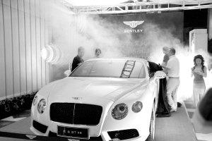 全新欧陆GT V8震撼来袭 宾利激情续燃成都