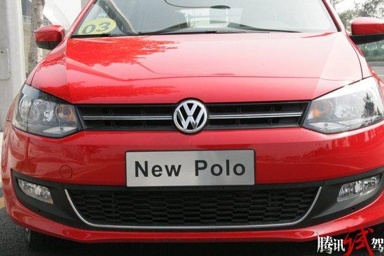 风格由我 腾讯试驾2011款全新Polo