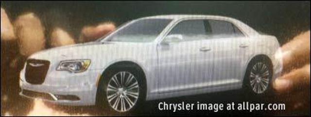 克莱斯勒改款300C照片意外曝光 配新款隔栅