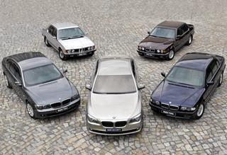 汽车胶片:生来豪华始于操控BMW 7系