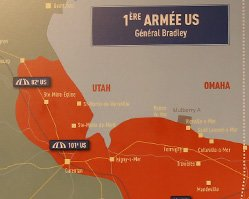 当时美军主要攻占的海滩