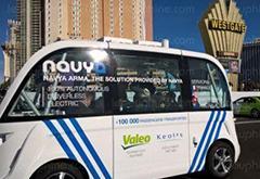 自动驾驶公交车首次现身美国 时速最高达25.7公里