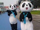 加长版熊猫 好喜感
