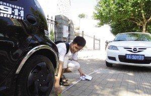 后视镜判断车距专业人士测量 因车而异