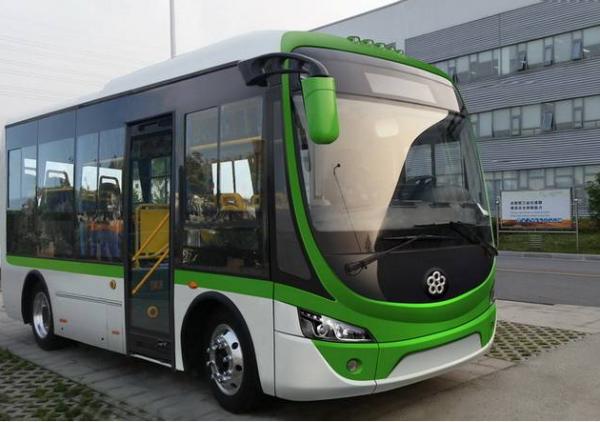 收购的珠海银隆新能源汽车所生产的纯电动公交汽车-董明珠 格力收