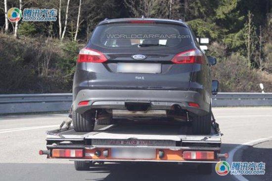 引入油电混合 新一代福克斯RS原型车曝光
