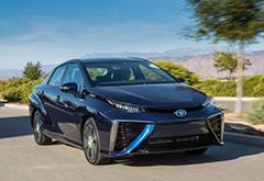 丰田将在中东展开氢燃料电池汽车测试工作