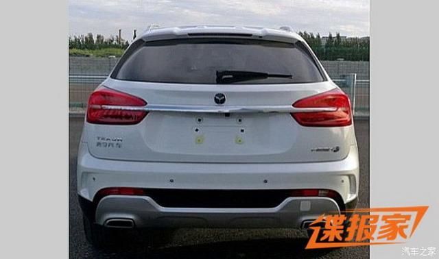 紧凑型SUV 君马MEET 3新车官图发布
