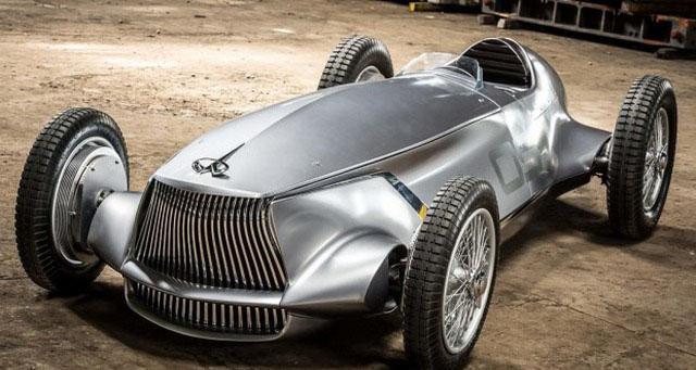 电动赛车玩复古 英菲尼迪Prototype 9概念车