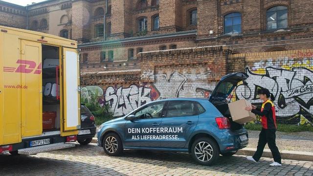 大众和DHL在德国测试送货到车 目标成为该领域前三