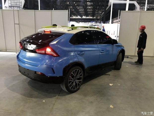 上海车展探营:纳智捷全新小型SUV